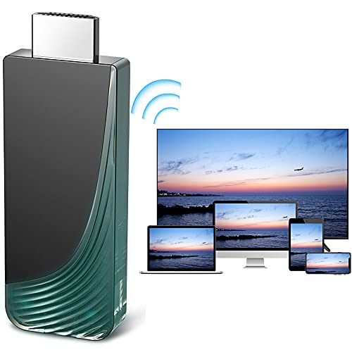 WiFi Display Dongle, iBosi Cheng 1080P Streaming Video Receiver,HDMI Wireless Display Adapter for iPhone/iPad/Laptops to TV/Projector/Monitor, Support Miracast Airplay DLNA