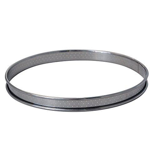 DE BUYER -3093.28 -cercle a tarte inox perfore ht2 ø28 cm