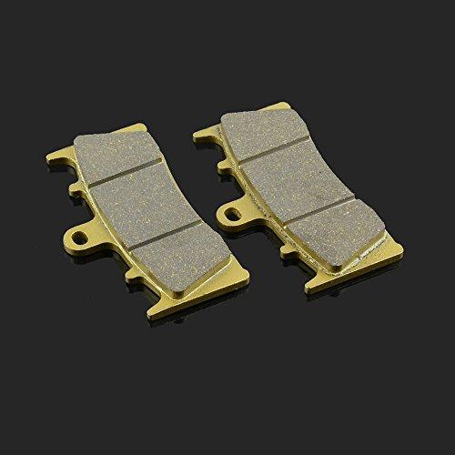 89 x 53 x 8.3 mm 1 paire de plaquettes de frein avant pour Kawasaki Zx600 Zx7r Zx9r Zx12r Zx1200 ZRX 1200 R Jaybrake Suzuki GSXR 750 GSXR 1000 GSX 1400