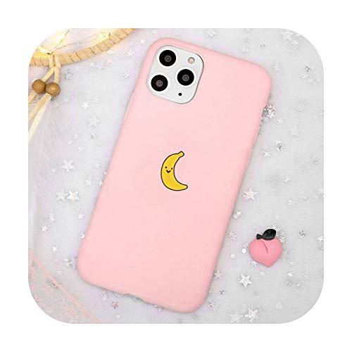 Lindo dibujos animados fruta sandía animal ballena teléfono caso caramelo color para iPhone 11 12 mini pro XS MAX 8 7 6 6S Plus X SE 2020 XR-a1-iPhone11