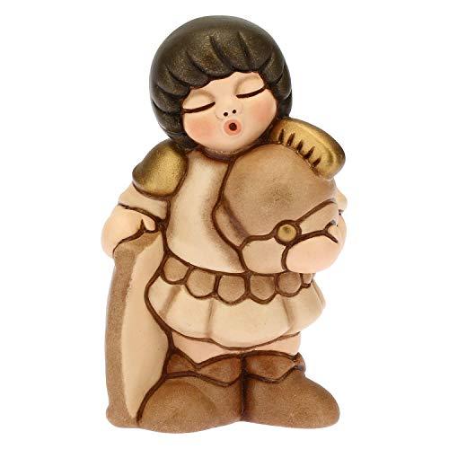 THUN - Soldato Variante Beige - Presepe Classico - Ceramica - 5x4x8 cm