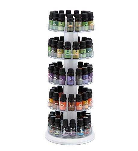 J JACKCUBE DESIGN Rotating Essential Oil Display Stand...