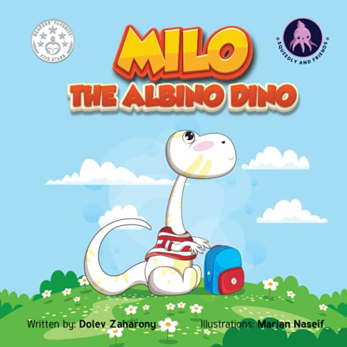 Milo The Albino Dino: A story that teaches about friendship