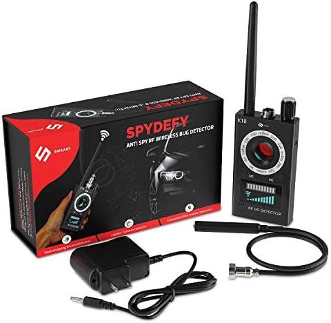 Anti Spy RF Detector Wireless Bug Detector Signal for Hidden Camera Laser Lens GSM Listening product image