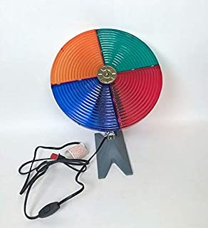 vintage color wheel