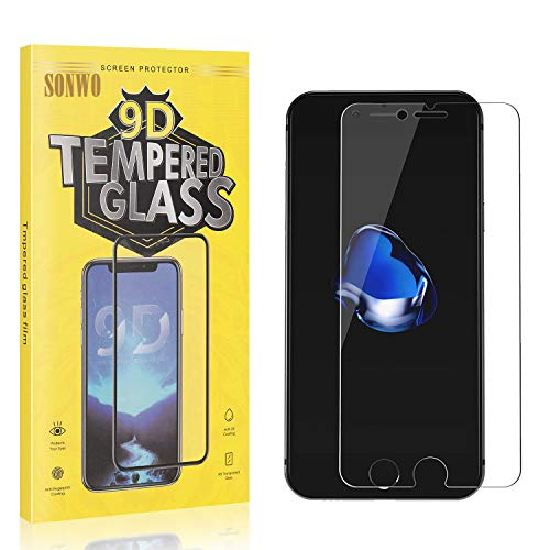 1 Stück Displayschutzfolie Kompatibel mit iPhone SE 2020 / iPhone 6S / iPhone 6, SONWO Panzerglas Schutzfolie für iPhone SE 2020 / iPhone 6S / iPhone 6, Gehärtetes Glas Schutzfolie