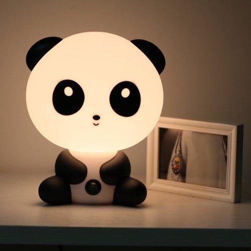 icase4u Tisch- und Nachttischlampe, einfach, moderner Schreibtisch, kreatives Licht, Cartoon Kungfu Panda/Skate DJ Chico Form für Kinder, Festivalfreunde (Kungfu Panda)