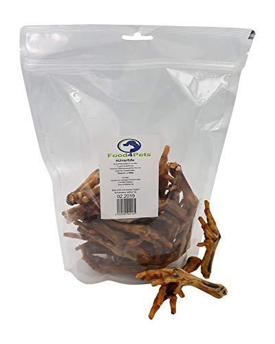 Hundeleckerli Hühnerfüße 500g - die knusprigen Kausnacks für ihren Hund