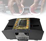 WSVULLD Carta Elettronica della Carta del Poker del Casinò, Deluxe Macchina della miscelazione della Scheda elettrica della Macchina della miscelazione della Batteria del Mixer della Batteria Shuffle