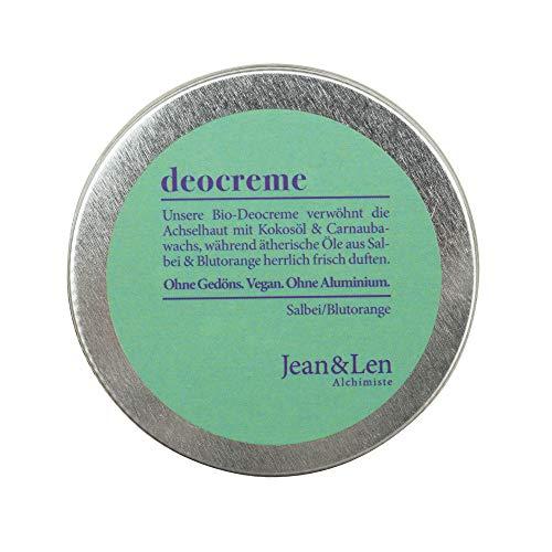 Jean & Len Deocreme Salbei/Blutorange, 50 ml