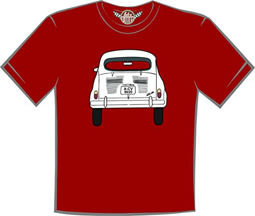 Retro t-shirt Camiseta Seat 600 (XXL)
