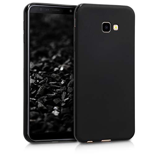 kwmobile Hülle kompatibel mit Samsung Galaxy J4+ / J4 Plus DUOS - Hülle Handyhülle - Handy Case in Schwarz matt