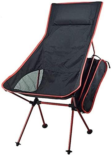 Silla de camping plegable silla de jardín portátil compacta ligera silla plegable al aire libre con mochila senderismo picnic