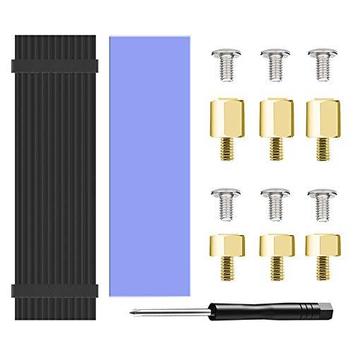 M.2 2280 SSD Disipadores térmicos Disipador de Calor con Ventilador. Heatsink with Fan