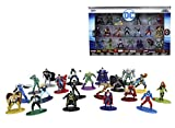 Jada Toys DC Comics 1.65'' Die-cast Metal Collectible Figures 20-Pack Wave 4, Toys for Kids and Adults (32391)