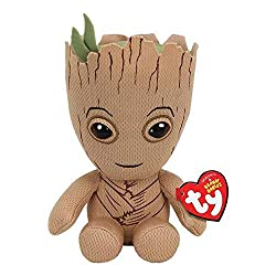 Ty Marvel Beanie Babies Groot Soft Toy