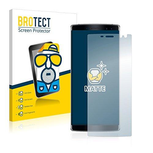 BROTECT 2X Entspiegelungs-Schutzfolie kompatibel mit Doogee BL12000 Bildschirmschutz-Folie Matt, Anti-Reflex, Anti-Fingerprint