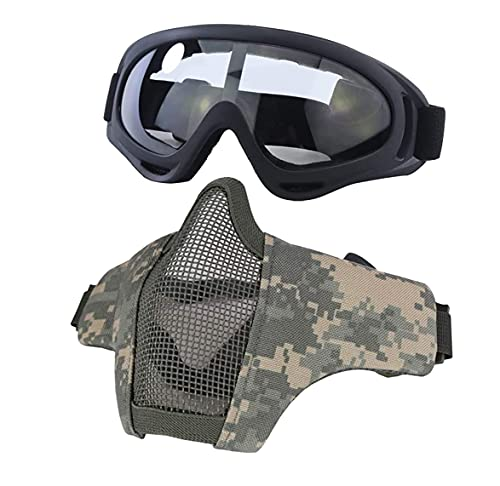 Aoutacc Airsoft Mask Tactical Goggles...