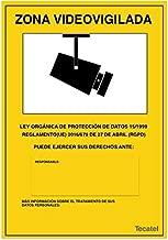Amazon.es: cartel alarma