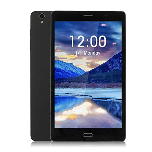 Tablet PC da 8 Pollici, 3G Phablet, Google Android 6.0, Schermo HD 1280 * 800 IPS, 1 GB DDR3 + 32 GB, Doppia SIM, Doppia Fotocamera 2.0 MP + 8.0 MP, 4000 mAh, WiFi, Bluetooth, Nero