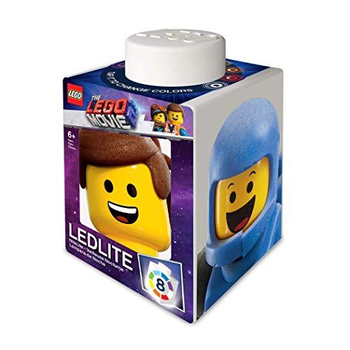 The Lego Movie 2 1x1 Silicone Brick NiteLite - Emmet, Batman, Benny, Rex