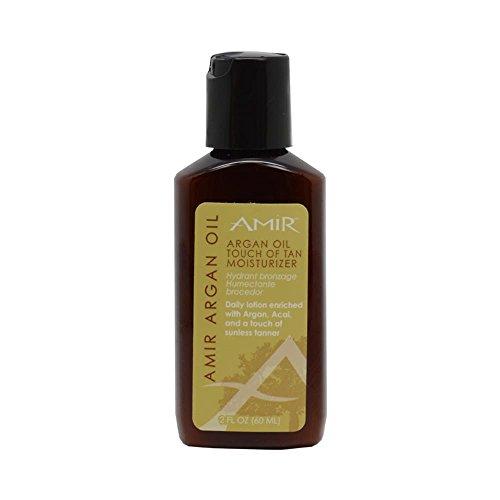 Amir Argan Oil Touch Of Tan Body Moisturizer 2-ounce Lotion