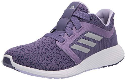 adidas Women's Edge Lux 3 Running Shoe, Purple/Silver Metallic/Purple Tint, 8.5 M US