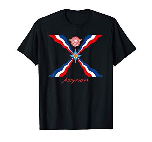 Assyrische / Assyrian Flagge / Fahne - Assyrer T-Shirt