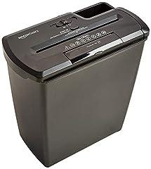 AmazonBasics Shredder, 7-8 vellen, gestreepte snit, CD shredder*