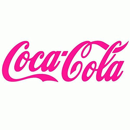 Coca-Cola-Pegatinas Prespaziato-- 10 cm, color Fucsia: Amazon.es: Coche y moto