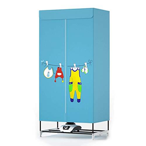 Wäschetrockner Tragbarer Wäscheständer für Wäsche 900W - Reise-Minitrockner 33 LB Kapazität Energiesparender Falttrockner für Wohnungen Schnelltrockender und effizienter digitaler Automatik-Timer