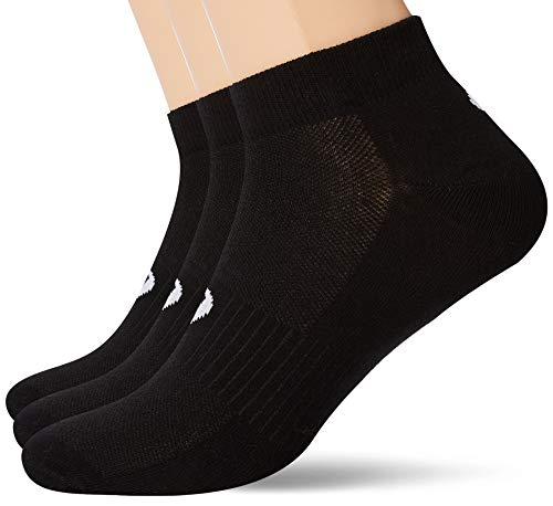 ASICS Herren 3PPK Ped Socken, Schwarz (Black 155206-0900), 45/46 (Herstellergröße: 43-46)