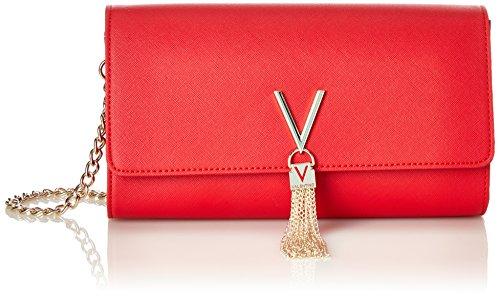 Mario Valentino Valentino by Divina Sa, Pecheta: para Mujer, Rojo (Rosso), 4.5x12x27 centimeters (B x H x T)