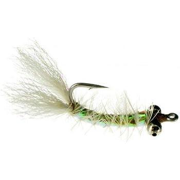 Flats Fly x 6 Redfish, Permit, Trout, Bonefish, Pompano Fly Fishing Flies