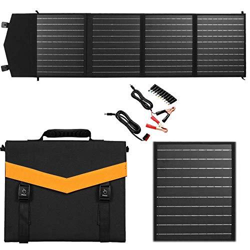 18v Faltbar Solamodule, solarpanel solaranlage komplettset mit Solar Controller Ladeklammer Grundlegende Ausrüstung für den Frühlingsausflug (120)