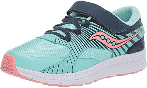 Saucony Girl's Velocer A C Little Navy San Francisco Mall Super intense SALE Turquoise Kid 7 Big