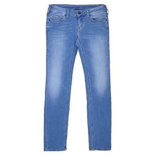 MUSTANG, Gina Skinny, Damen Damen Jeans Hose Stretchdenim Ocean Blue W 31 L 30 [19890]