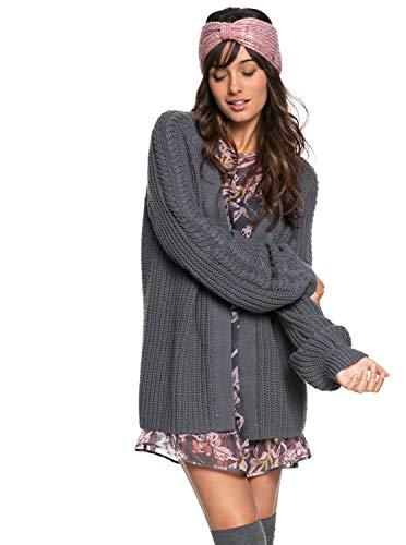 Roxy Damen Strickjacke Long Get Away Pullover