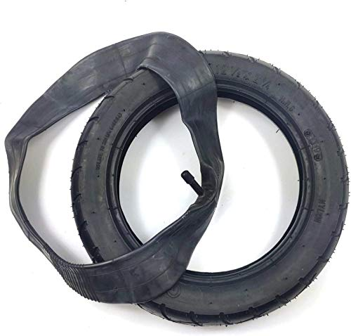 aipipl Ruedas Neumático de Repuesto, 12 1 / 2x2 1/4 Neumático Neumático de 12 Pulgadas Neumático Universal para Cochecito Bicicleta Plegable Vehículo eléctrico