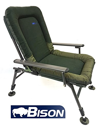 Bison Polaire Confort Chaise de camping pche  la carpe