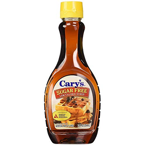 Cary's Sugar Free Syrup, 12-Ounce Bottle, 1 Pack by Cary's