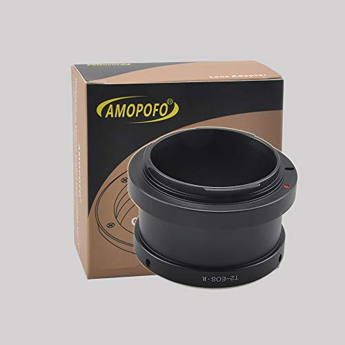 T2-EOS R Adapter T-Mount (T/T-2) Schroef Mount SLR Mount Lens naar Canon EOS R Full Frame Camera