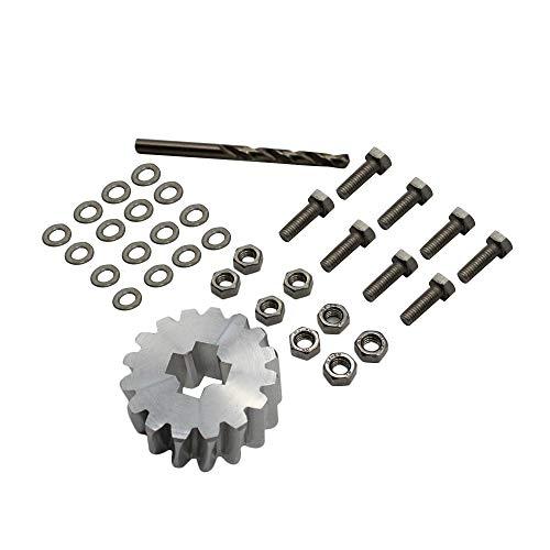kit de reparación de neumáticos,Tickas Juego de reparación de la rueda de repuesto Reparación del engranaje del portador de la rueda de repuesto para el Ford Galaxy Seat Alhambra VW Sharan