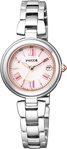 [シチズン]CITIZEN 腕時計 wicca ウィッカ ソーラーテック電波時計 ハッピーダイアリー シンプルアジャスト KL0-618-91 レディース