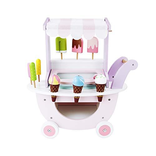 🍦 Regalo Significativo para Niños: Es el mejor regalo de juguetes de carrito para niños. Creemos que a los niños les encantará. Deje que sus hijos se sumerjan en formas imaginativas, divertidas y emocionantes de hacer sus propios helados de juguete. ...