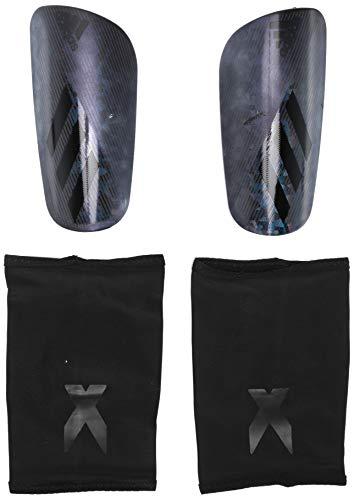 Espinilleras adidas X PRO Fútbol, negro/gris/negro, XL