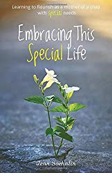 flower coming up through cement, embracing this special life book cover