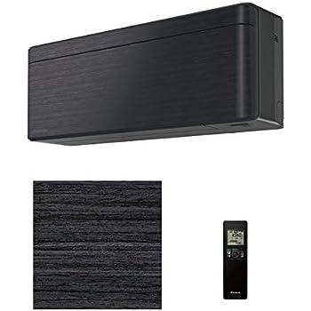 ダイキン エアコン 冷房時15~23畳/暖房時15~18畳「リソラ SXシリーズ」単200V(ブラックウッド)(本体色ダークグレー) S56WTSXP-K