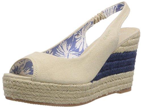 GANT FOOTWEAR Stella, Espadrilles Femme - Beige - Beige (Dry Sand G22), 42 EU