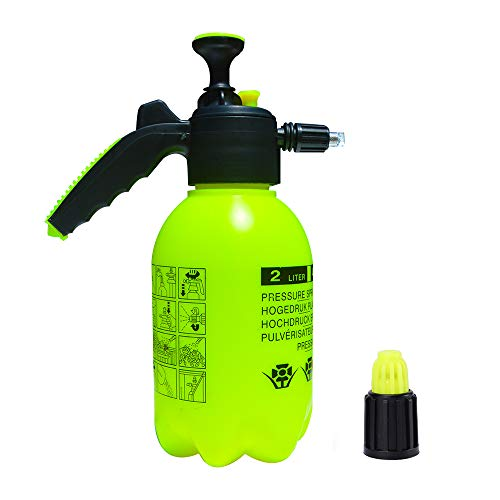 Pump Foaming Sprayer Hand Pressure Foam Sprayer Water Sprayer, Hand Pressurized Foam Cannon 75 oz, Car Wash Manual Foam Cannon, Hand Operated Soap Foam Nozzle